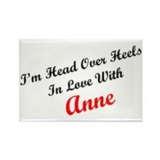 In Love with Anne Rectangle Magnet