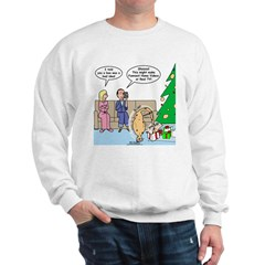 Boa for Christmas Sweatshirt