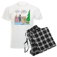 Boa for Christmas Pajamas