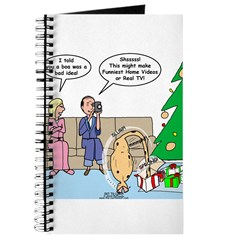 Boa for Christmas Journal