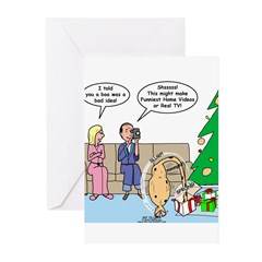 Boa for Christmas Greeting Cards (Pk of 10)