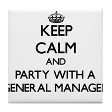 Keep Calm and Party With a General Manager Tile Co