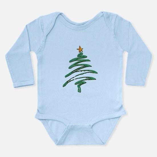 Swished Xmas Tree Logo copy Body Suit