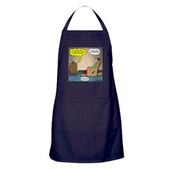 Stupid Holiday Commercial Apron (dark)