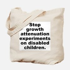 Stop Growth Attenuation Tote Bag