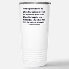 Liberal Antidote Stainless Steel Travel Mug