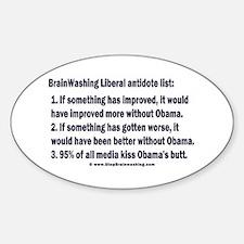 Liberal Antidote Decal