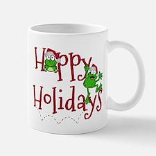 Hoppy Holidays - Frogs Mugs