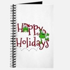 Hoppy Holidays - Frogs Journal