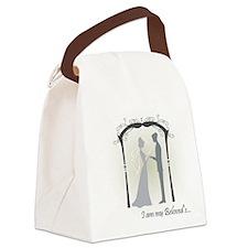 Beloved Bride and Groom Canvas Lunch Bag