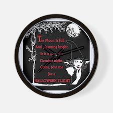 Halloween Calendar images Cover.png Wall Clock