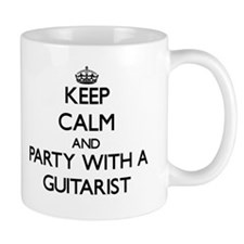 Keep Calm and Party With a Guitarist Mugs