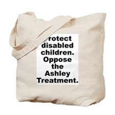 Protect Disabled Children Tote Bag