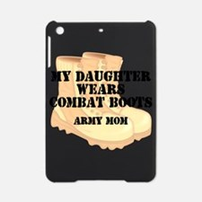 Army Mom Daughter Desert Combat Boots iPad Mini Ca