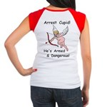 Arrest Cupid Women's Cap Sleeve T-Shirt