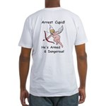 Arrest Cupid Fitted T-Shirt