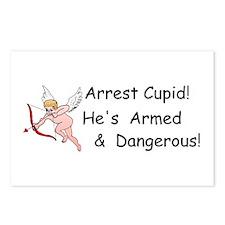 Arrest Cupid Postcards (Package of 8)