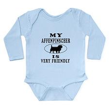 My Affenpinscher Is Very Friendly Long Sleeve Infa