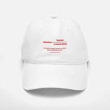 Liberalism is equal to Baseball Baseball Cap