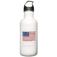 Back to Back World War Sports Water Bottle