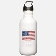Back to Back World War Water Bottle