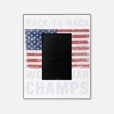 Back to Back World War Champs Picture Frame