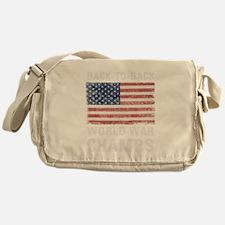 Back to Back World War Champs Messenger Bag