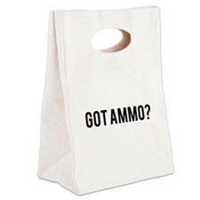 Got Ammo Canvas Lunch Tote