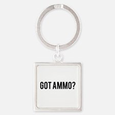 Got Ammo Square Keychain