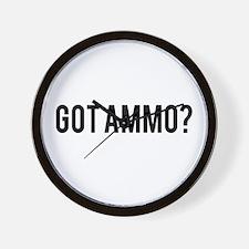 Got Ammo Wall Clock