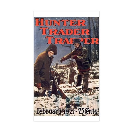 two trappers 1922 Rectangle Sticker