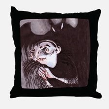 Vampire Throw Pillow