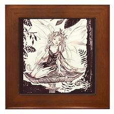Woodland Fairie Framed Tile