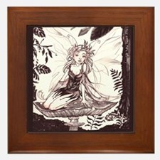 Woodland Fairie Framed Tile