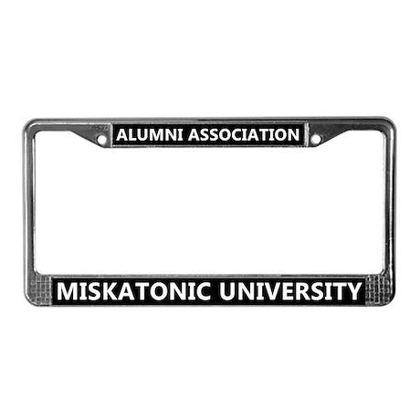 Miskatonic University Alumni License Plate Frame