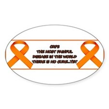 CRPS, most painful disease Decal