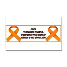 CRPS, most painful disease Rectangle Car Magnet