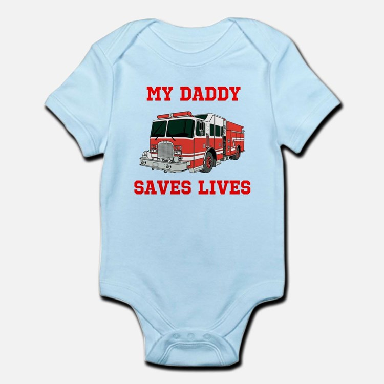 My Daddy Saves Lives Body Suit