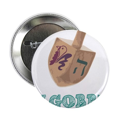 "Gimmel, Gobble... Same Thing 2.25"" Button (100 pac"