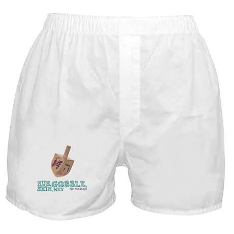 Gimmel, Gobble... Same Thing Boxer Shorts