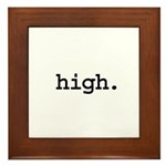 high. Framed Tile