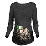 Irish Pride Inside Long Sleeve Maternity T-Shirt