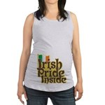 Irish Pride Inside Maternity Tank Top