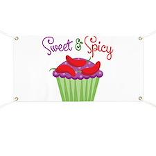 Sweet Spicy Jalapeño Cupcake Banner