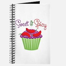 Sweet Spicy Jalapeño Cupcake Journal