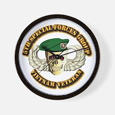 5th SFG - WIngs - Skill Wall Clock