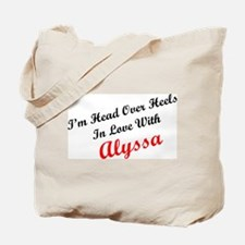 In Love with Alyssa Tote Bag