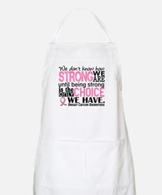 Breast Cancer HowStrongWeAre Apron