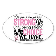 Breast Cancer HowStrongWeAre Decal