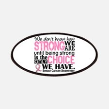 Breast Cancer HowStrongWeAre Patches